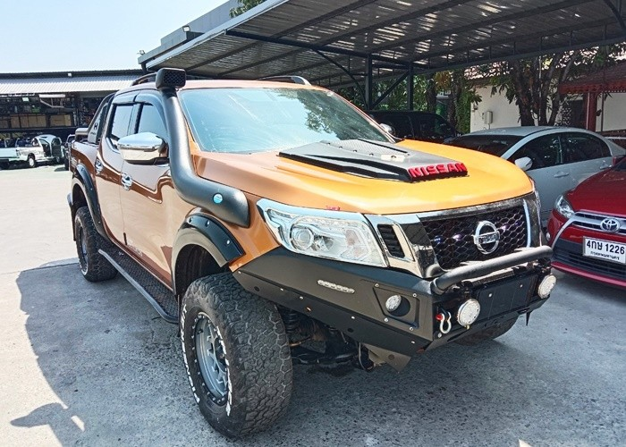 2017 NISSAN DOUBLE CABIN 4WD AT